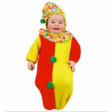 Baby clown trappelzakcarnavalskleding