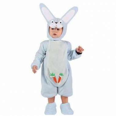 Blauw konijn baby carnavalskleding
