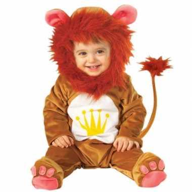 Leeuwen baby carnavalskleding