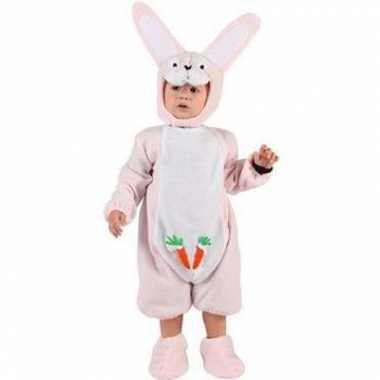 Roze konijn baby carnavalskleding