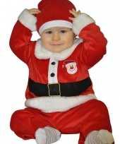 Kerstman baby carnavalskleding